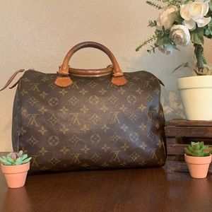 💋Authentic💋Louis Vuitton Monogram Speedy 30 Bag